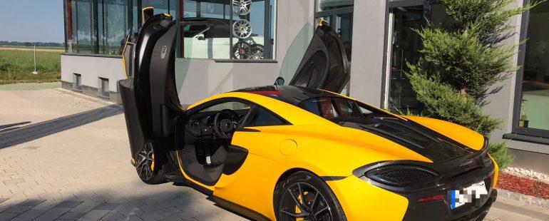 Neues Projekt McLaren 570s